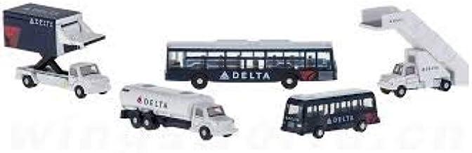 Gemini Jets Delta Airport Service Vehicles 1:200 Scale Model Die-Cast Part#G2DAL720