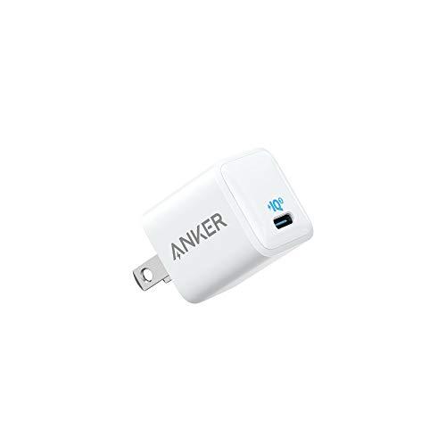 Anker PowerPort III Nano (PD対応 18W USB-C 超小型急速充電器)【PSE認証済 / PowerIQ 3.0搭載】iPhone 11 / 11 Pro / 11 Pro Max / XR / XS / X、Galaxy S10 / S9、Pixel 3 / 2、iPad Pro、その他USB-C機器対応