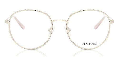 Guess Unisex-Erwachsene GU2669 032 50 Brillengestelle, Gold (ORO)