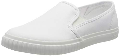 Timberland Damen Newport Bay Bumper Toe Slip On Sneaker, Weiß (Bianco (White) Tb0a28nh1001), 38.5 EU