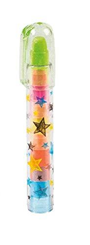 Brunnen 102988701 Radiergummi Steckstift Fun Collection, 5 verschiedene Farben, 1 Stück