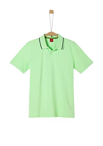 s.Oliver Junior Jungen 402.10.005.13.130.2038361 Polohemd, Light Green, S/REG