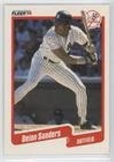 Deion Sanders (Baseball Card) 1990 Fleer - [Base] #454