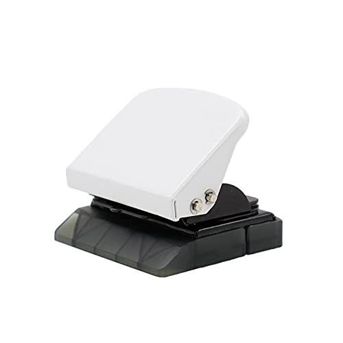 YRYPVD Perforadora Componente de Tres Orificios de Hoja Suelta Punch Multi-Orificio Punch DIY Punch Punch P5 (9 Orificios) A5 / A6 / A4 (6 Agujeros) Pequeño y portátil (Color : White)