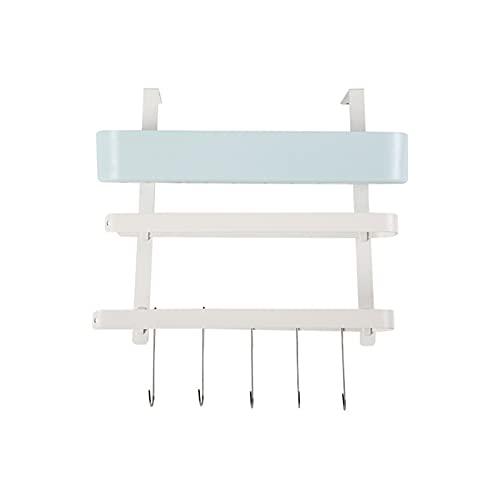 Floepx Estante de refrigeración multifunción, estante lateral de almacenamiento multicapa, soporte de pared lateral para frigorífico, accesorio de cocina