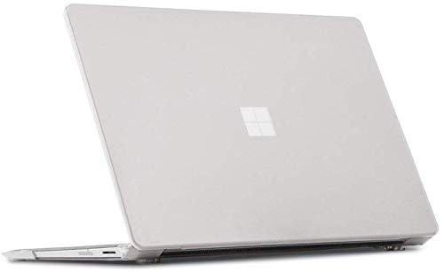 mCover Hard Shell Case for 13.5-inch Microsoft Surface Laptop 3 Computer with Metal Keyboard - Clear