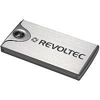 Revoltec File Protector Silber Gehäuse 2½ 1 Laufwerk USB2.0 Silber