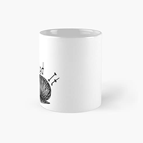 Snailed It Classic Mug - 11 Ounce For Coffee, Tea, Chocolate Or Latte.