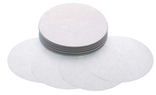 KitchenCraft Home Made Wax Discs for Jam Jars, Pack of 200 Waxed Paper Jam Covers for 2 lb Jars