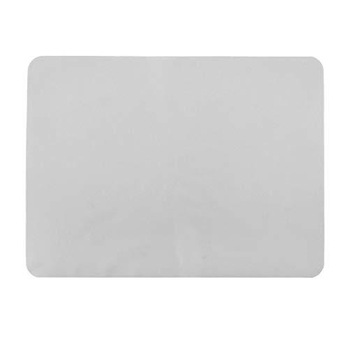 YeVhear - Cojín de silicona resistente al calor, color blanco claro