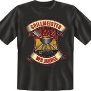Trendagentur KEPPLINGER Mega Cooles T-Shirt Griller: Grillmeister des Jahres (XL-XLarge)