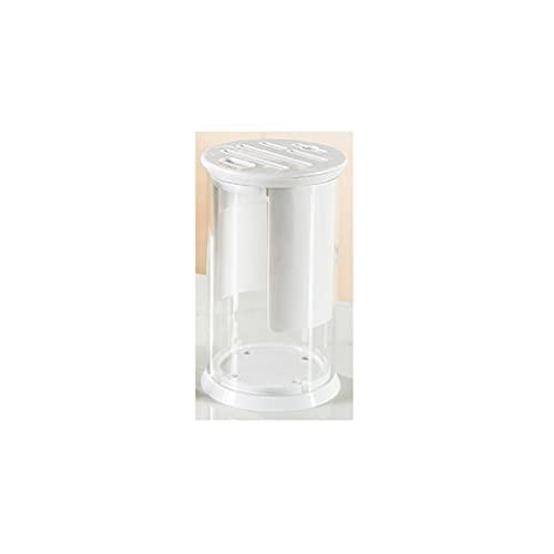 WHL Sujetador de Cuchillo Tenedor de Cuchilla de bambú de Vidrio de Alto borosilicato Tenedor de Cuchilla Antideslizante Universal con Orificios de ventilación(Tamaño: 22. 8 * 13.3cm) Estante