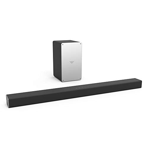 VIZIO 2.1 Sound Bar SB3621n-F8M with Wireless Subwoofer Bluetooth 100dB SPL DTS Virtual X