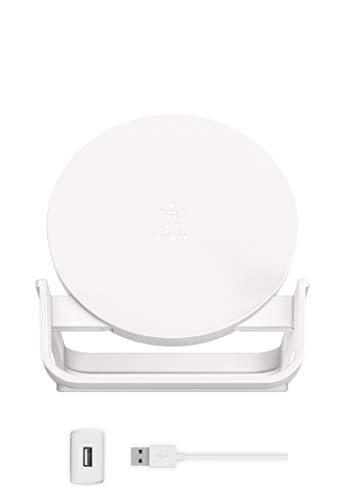 Belkin ワイヤレス充電器 Qi認証 iPhone 12 Pro / 12 / SE / 11 / XR 対応 5W 7.5W 10W 出力 ホワイト F7U083JCWHT-A