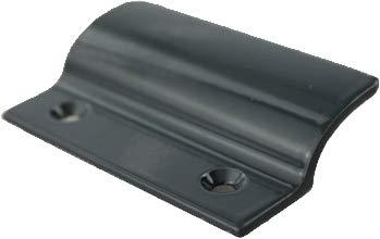 MS Beschläge® Balkontürgriff Terassentürgriff Ziehgriff aus Aluminium (Anthrazit - RAL 7016)