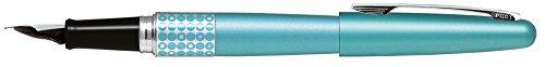 Pilot - Pluma MR Retro Pop/Azul Claro & Dots Ring con Estuche