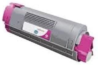 Ink Now Premium Compatible Oki-Okidata Magenta Toner 43324402 for C5500, C5500N, C5650, C5650N, C5650DN, C5800, C5800LDN, C5900 MFP Printers 5000 yld