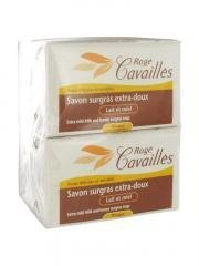 ROG ? Cavaill ? extra-mild Surgras Soap Milk and Honey 3 x 250 g + 1 Free by ROG ? Cavaill ?