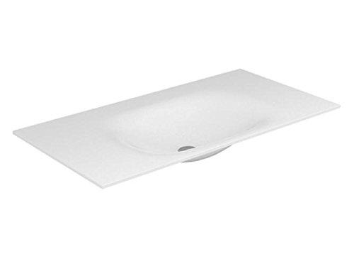 Keuco Varicor-Waschtisch Edition 11 31270, mit 3 Loch Bohrung, weiß, 1400 mm, 31270701403