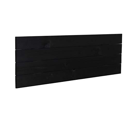 Cabeceros de Cama 135 Negro Marca DHOME