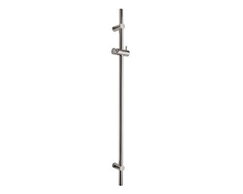 Hochwertige Wandstange für Dusche | Vollmetall verchromt | variable Befestigung möglich | Länge 96 cm