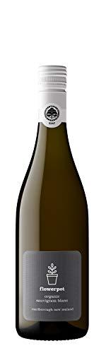 Flowerpot Organic Sauvignon Blanc Wine (Single Bottle), 750 ml