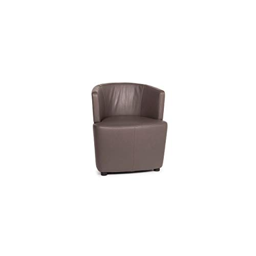 Walter Knoll leather armchair brown
