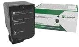 Lexmark Black Return Program Toner Cartridge for US Government, 7000 Yield (74C0SKG)