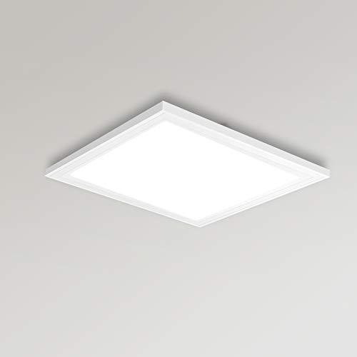 YU YUSING Leuchten LED Panel Deckenleuchten 30 x 30cm Neutralweiß 4000K Deckenlampe Deckenstrahler 18W Deckenbeleuchtung Wohnzimmer Küche Büro Bad [Energieklasse A+]