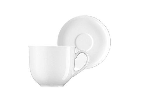 Arzberg Form 1382 Weiss Kaffeetasse 2tlg.