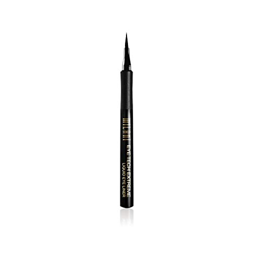 Milani Eye Tech Extreme Liquid Eyeliner - Blackest Black (0.03 Fl. Oz.) Vegan, Cruelty-Free Liquid Eyeliner to Define & Intensify Eyes for Long-Lasting Wear