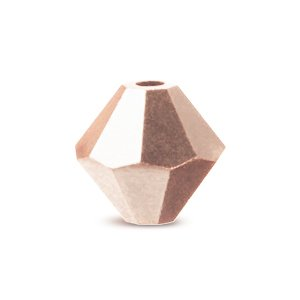 5328 SWAROVSKI bicono xilion di cristallo rose gold 2x4 mm (50)