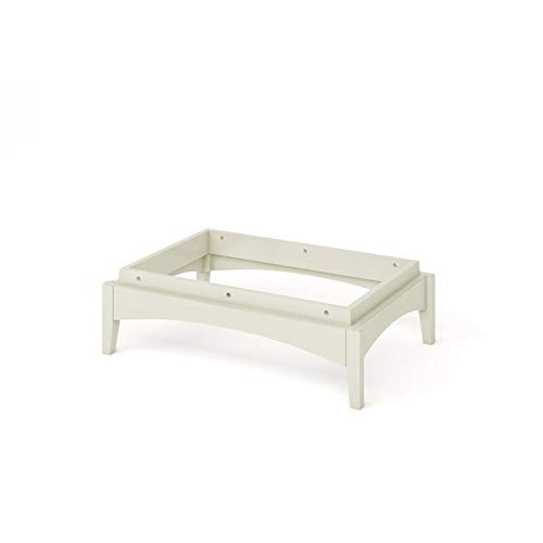 Allen and Roth Closet: Pedestal Base White Finish