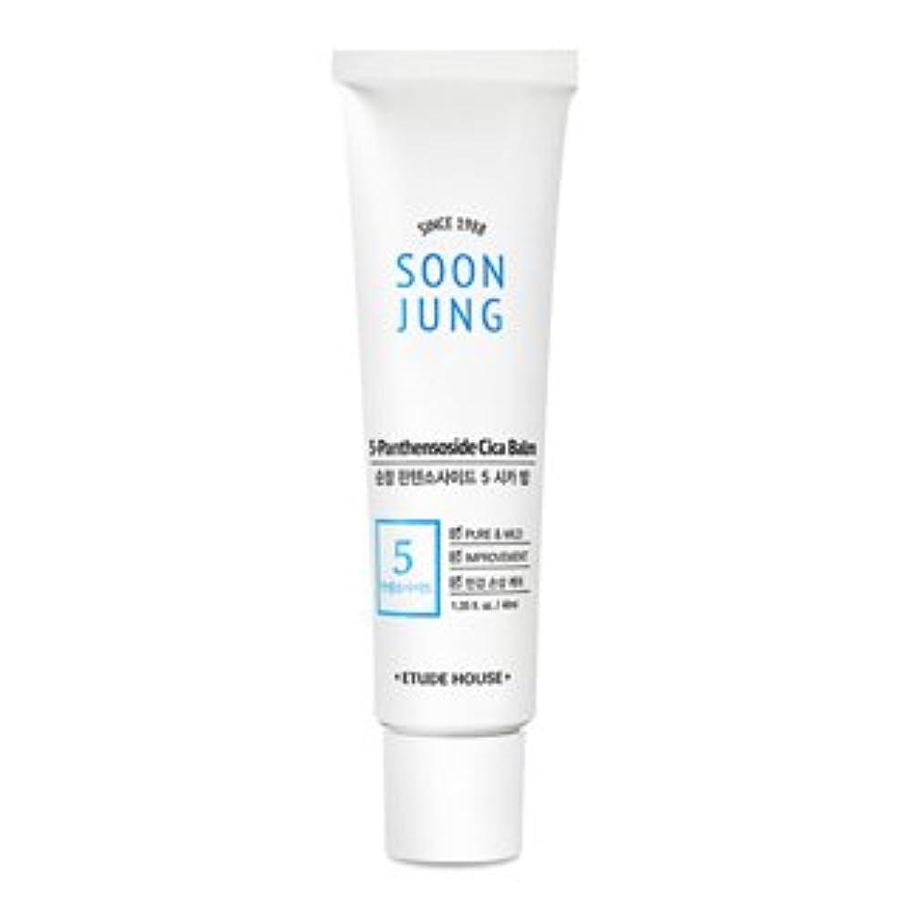 政治的薄めるワーム[New] ETUDE HOUSE Soon Jung 5-Panthensoside Cica Balm/エチュードハウス スンジョン 5-パンテンソシド シカ バーム (40ml) [並行輸入品]