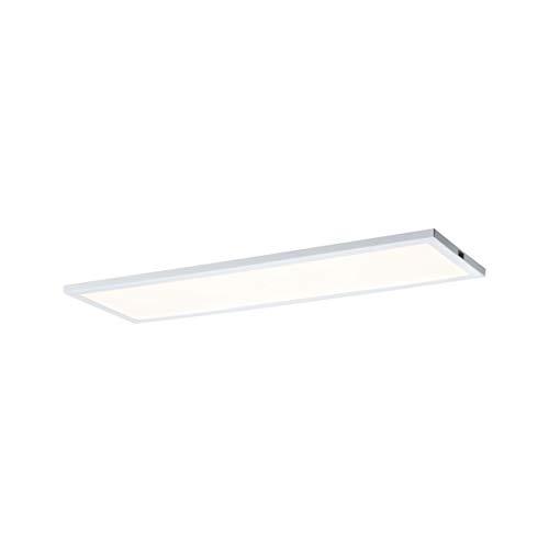 Paulmann 70776 Unterschrank-Panel LED Ace 7,5W Licht 2700K Warmweiß LED Panel Weiß 10x30 cm Basisset mit Dimmfunktion und Touchschalter