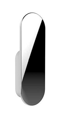 WENKO Wandhaken Lenu 2er Set - selbstklebende Haken, 2er Set, Kunststoff (ABS), 2 x 6.4 x 1.1 cm, Weiß