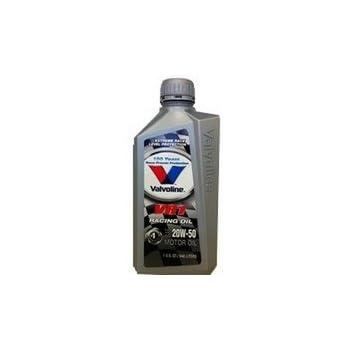 バルボリン VR1 レーシング 20W-50 SN 鉱物油 1QT×12