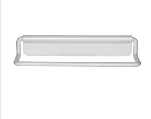Assiavree Toallero Autoadhesivas De Plástico Zapatero Baño Toallero De Almacenamiento Estante De Montaje En Pared Suspensión De La Toalla Que Cuelga Organizador De La Cocina Rail Riel de Toalla