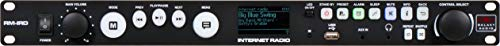 """Galaxy Audio RM-IRD Rack Mount Internet Radio, Access to Over 20k Stations, FM with RDS, 1/8"""" Stereo AUX Input, 1U Rack"""