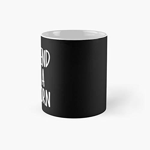 Easy Pretend I'm Unicorn Costume Gift Funny Halloween Classic Mug | Las mejores tazas de caf de 325 ml