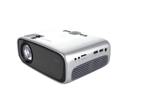 Screeneo Philips NeoPix Easy Play videoproiettore LCD 800x480 Grigio - Philips NeoPix Easy Play, LCD, 800x480, 3000:1, 16:9, 0,8-2 m, LED