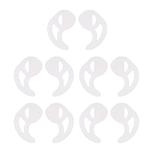 Molde para los oídos, 5 pares de tapones ergonómicos para el trabajo, para andar en bicicleta, para correr(L)