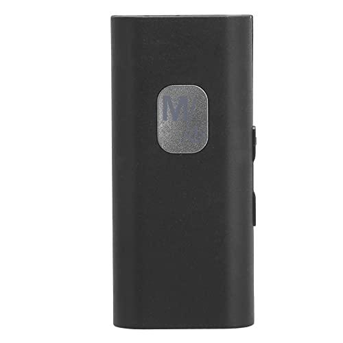 PUSOKEI Receptor Bluetooth, Receptor de Audio inalámbrico portátil con micrófono Integrado, Soporte para Llamadas con Manos Libres, Adecuado para Sistemas de Audio domésticos para automóviles