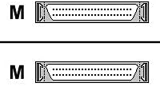 10ft SCSI2 External Cable Hd50m/hd50m