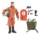 "GI Joe 40th Anniversary 12"" Action Pilot with Scramble Crash Helmet, Life Vest, and Parachute Pack 13th in a Series"