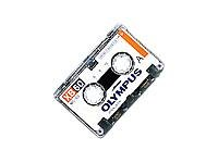 Olympus XB60 Microcassette Tape, Single Cassette
