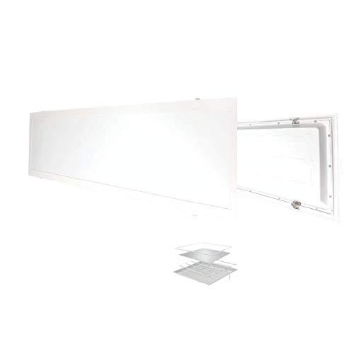 Atitudelar Acabamentos Painel Led Embutir 122x32 48W 6500K, Branco Frio