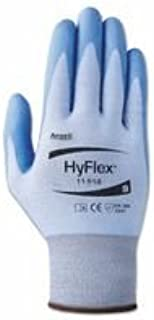 Ansell 012-11-518-6 Hyflex Coated Gloves44; 644; Blue-Gray