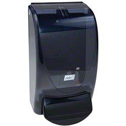 Zoom Supply Deb 91406 Seifenspender, eleganter handelsüblicher DEB Seifenspender, elegant gebogener schwarzer Schaumseifenspender – ADA-konform Version