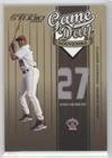 Vladimir Guerrero #214/300 (Baseball Card) 2004 Donruss Studio - Game Day Souvenirs - Jersey Number #GD-3